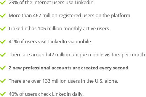 Linkedin user fact