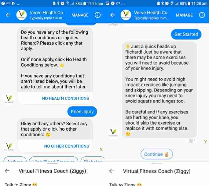 Personalized social media chatbots