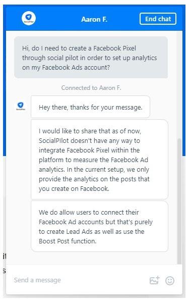 socialpilot-FB-pixel-integration
