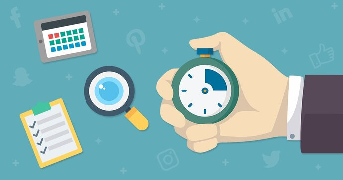 Ultimate Guide To Social Media Posting with 1 Hour A Day