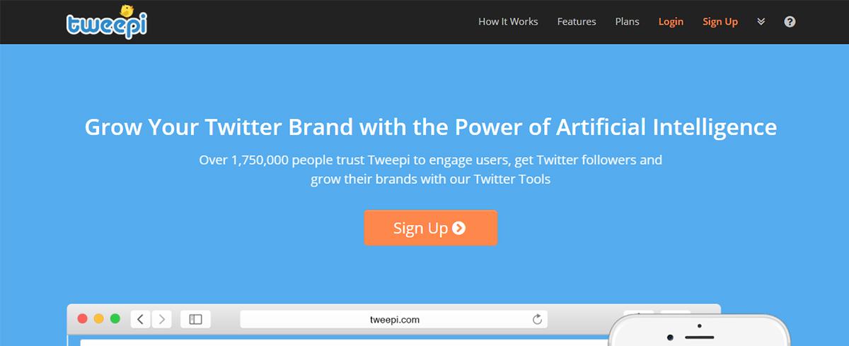 Twitter marketing tool - Tweepi