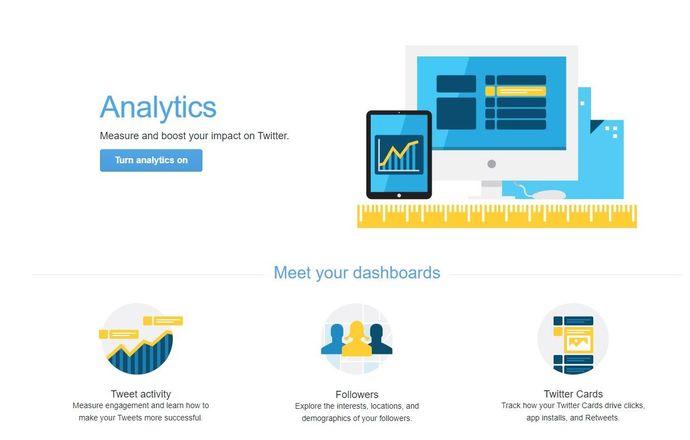 Twitter marketing tool - Twitter Analytics