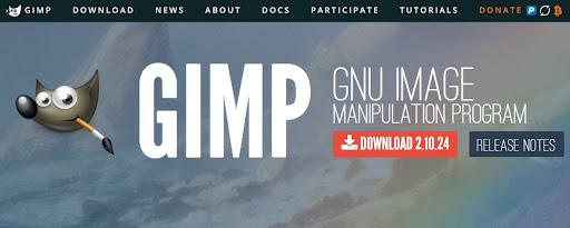 Pinterest tool - GIMP