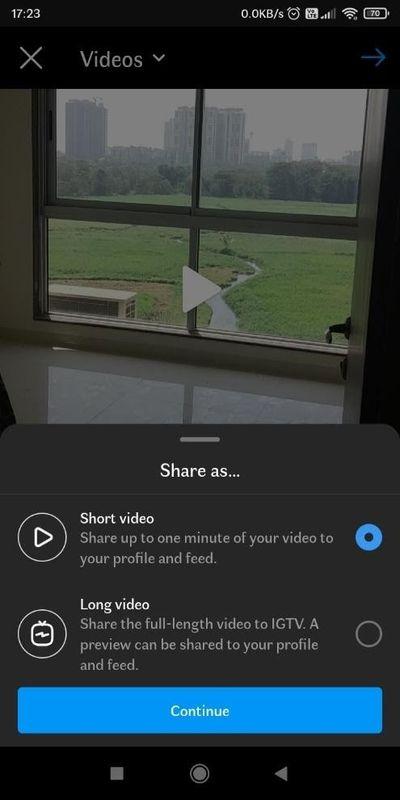IGTV-video