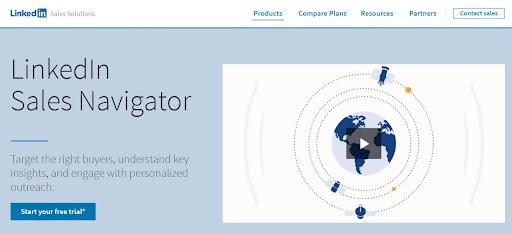 LinkedIn Tools - LinkedIn Sales Navigator