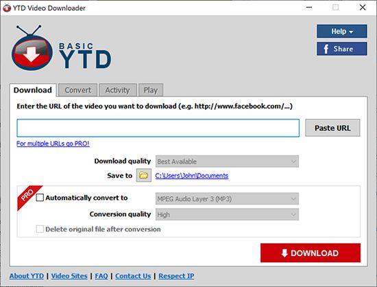 Using-YTD-Downloader