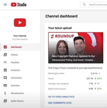 channel-dashboard
