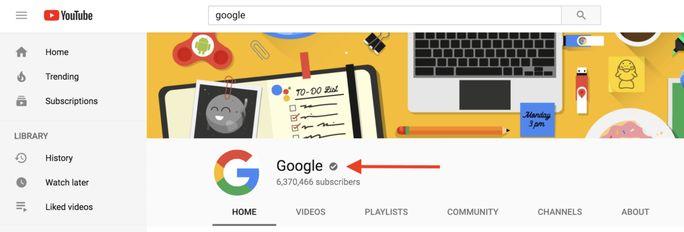 google-youtube-channel