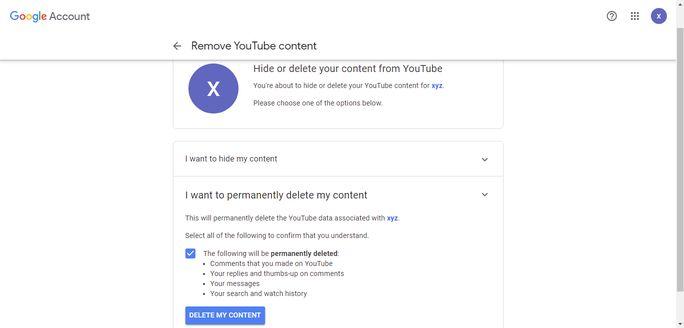 remove-youtube-content
