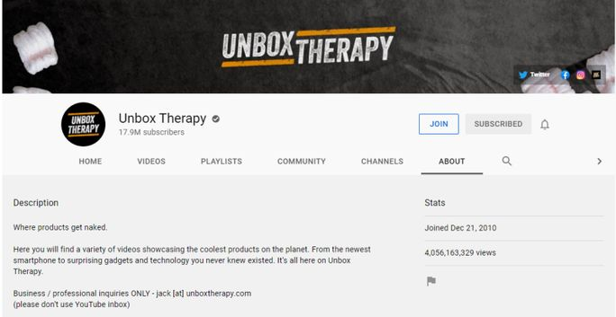 unbox-therapy