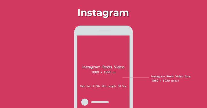 Instagram Reels size