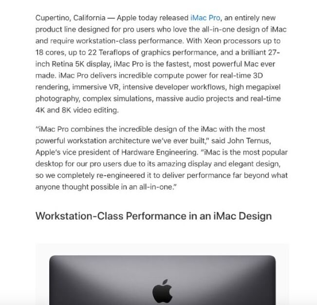 Product-launch-from-Apple