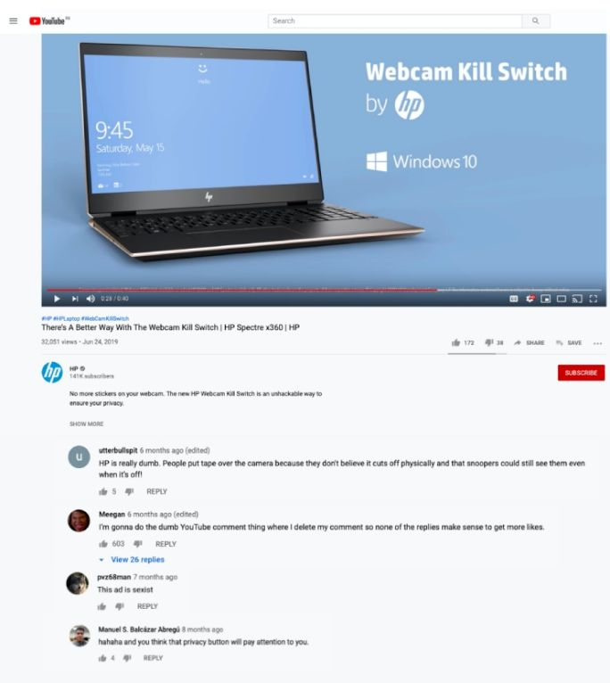 Regulate-YouTube-comments