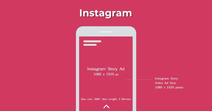 Instagram stories ad size