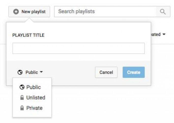 new-playlist
