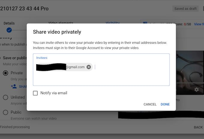 share-video-privately