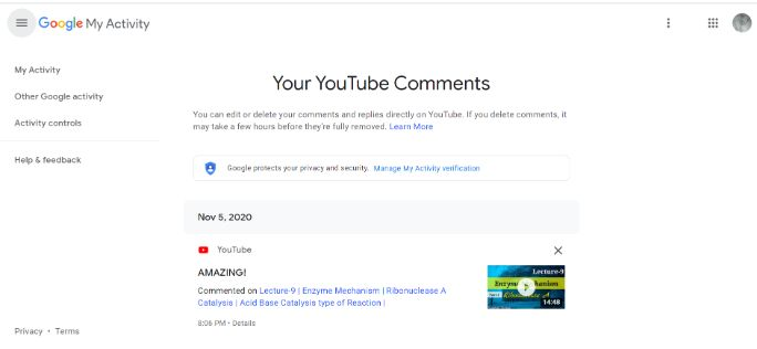 your-youtube-comments