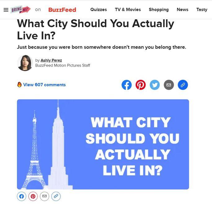 Buzzfeeds-quiz