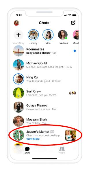 Messenger-Ads