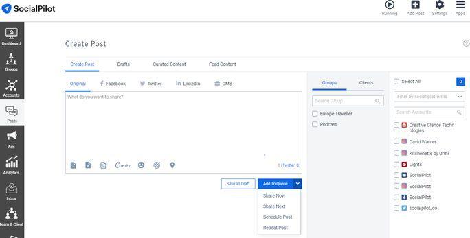 Social-Media-Scheduling-Tool